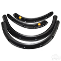 Fender Flare w/ Running Light, SET OF 4, E-Z-Go RXV 08-15