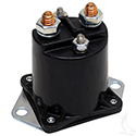 Solenoid, 12V 4 Terminal Copper, Club Car Gas 84+