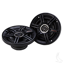 "Crunch 5.25"" 250W Max Coaxial Speakers, Set of 2"