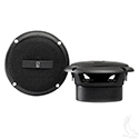 "3"" Round Poly-Planar 60 Watt Coaxial Water Resistant Speakers Only- Set of 2"